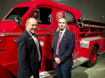 At the Edmonton Firefighters Union 100th Anniversary Gala - Sept 30, 2017