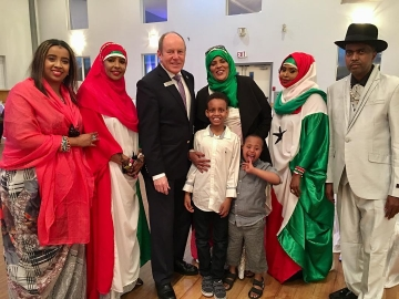 Attending the Somaliland 27th Independence Celebration at the Portuguese Cultural Centre - May 5 2018