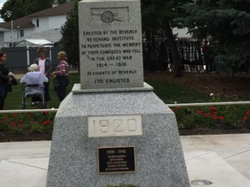 Beverly Cenotaph Rededication Ceremony - June 24, 2017