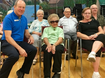 Celebrating August Birthdays at the North West Edmonton Seniors Activity Centre - August 3, 2018