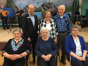 Celebrating November birthdays at the North West Edmonton Seniors Activity Centre  - Nov. 2, 2018