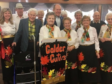 Enjoying music from the talented Calder Cuties - Oct 6, 2017
