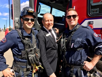 First Responders Day at Kingsway Mall in Edmonton -June 2, 2018