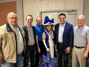 Great to attend the K-Days breakfast at the Matrix Hotel with my Conservative MP colleagues - July 20, 2018