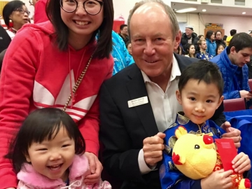 I had a terrific time officiating at the Chinese New Year Carnival at Mary Help of Christians Chinese Catholic Parish - February  2, 2019
