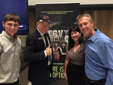 Meeting incredible talent from the Canadian Television industry - Sept 27, 2017