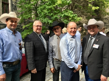 Meeting members of the Canadian Cattleman's Association - Sept 26, 2017
