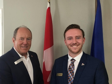 Meeting with University of Alberta Students' Union VP Adam Brown - June 22 2018