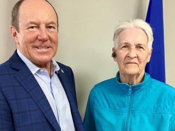 Meeting with constituent Norma - Jan 8, 2017