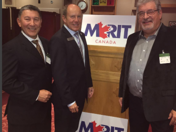 Meeting with representatives from Merit Canada - Oct 17, 2017
