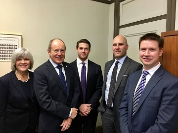 Meeting with representatives from the Canadian Credit Union Association - Oct 16 2017