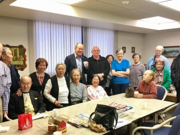 Political round table discussion at St Josaphat's Seniors Residence - Oct. 13, 2017