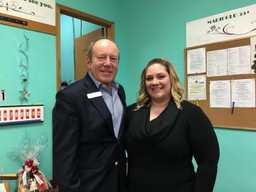 Talking with North West Edmonton Seniors Society's Volunteer Coordinator Cassandra Rose - April 13, 2018