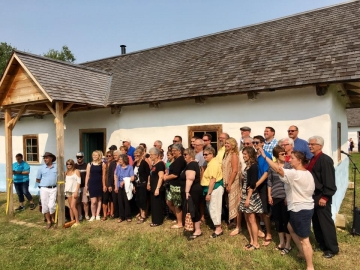 Ukrainian Day at Ukrainian Cultural Heritage Village east of Edmonton - August 13, 2017