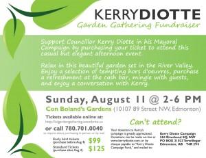Kerry Diotte Garden Gathering Fundraiser